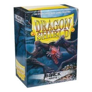 100 DRAGON SHIELD MATTE - BLACK