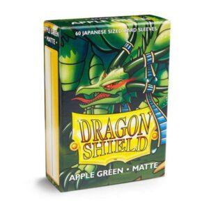 60 DRAGON SHIELD MATTE JAPANESE- APPLE GREEN