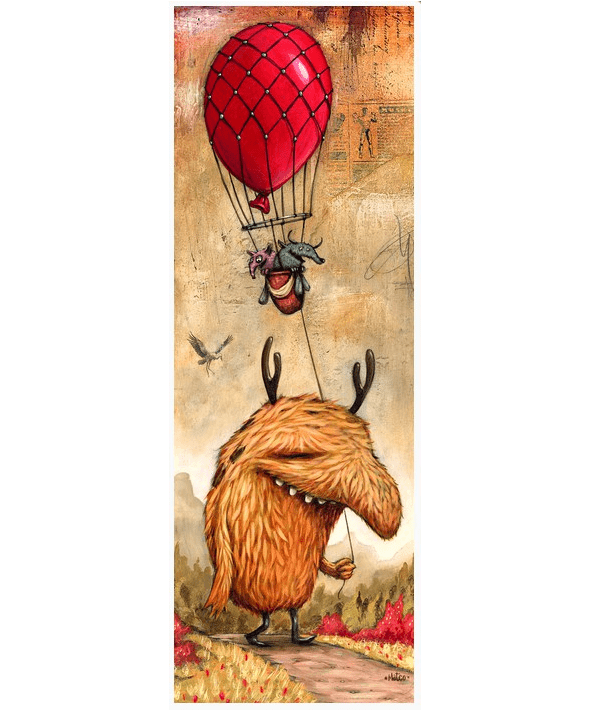 PUZZLE HEYE - M. DINEEN : Red Balloon - 1000 pièces
