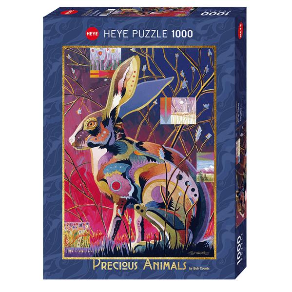 PUZZLE HEYE - B. COONTS : Aux aguets - 1000 pièces
