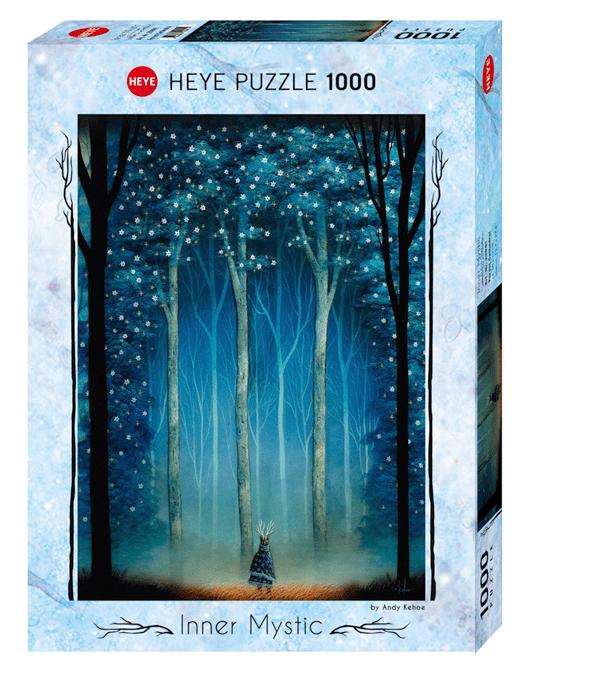PUZZLE HEYE - A. KEHOE - Cathédrale sylvestre - 1000 pièces