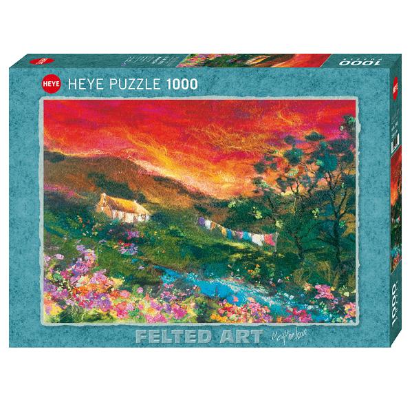 PUZZLE HEYE - M. MACKAY : Washing Line - 1000 pièces