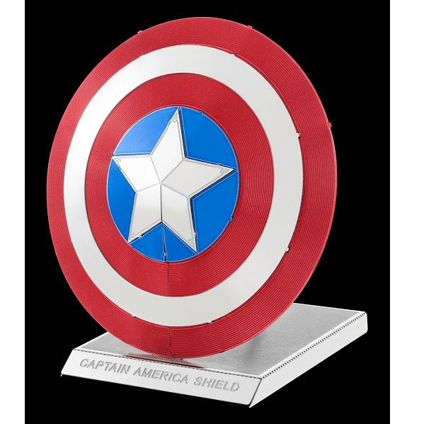 Metal Earth - Marvel Avengers - Bouclier de Captain America - Maquette 3D en métal