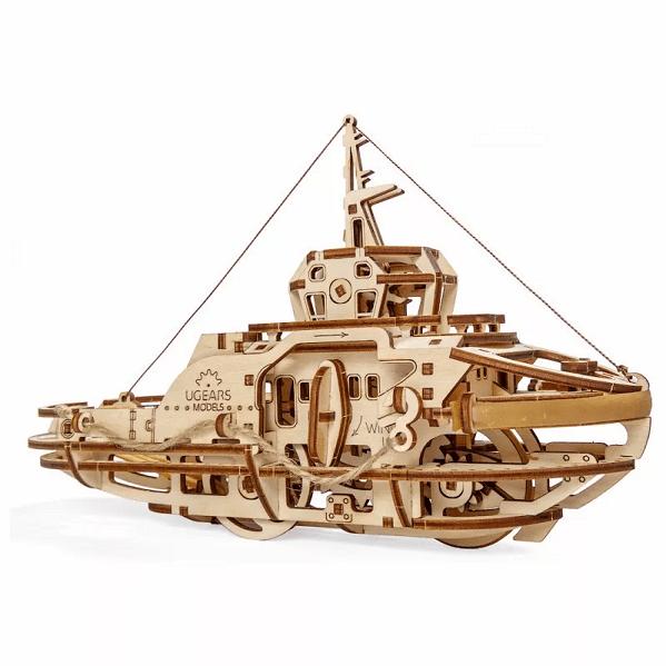 Remorqueur Ugears – Puzzle 3d en bois