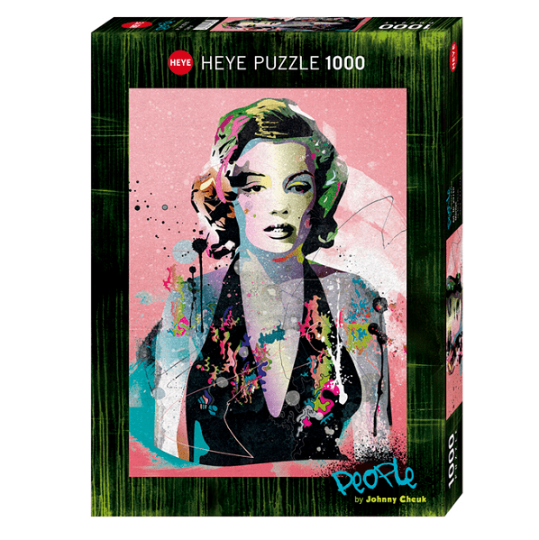 PUZZLE HEYE - J. CHEUK : Marilyn - 1000 pièces