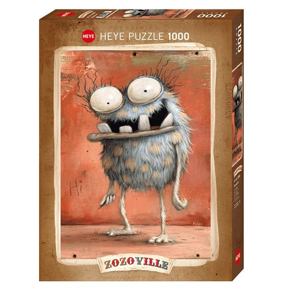PUZZLE HEYE - M. DINEEN : Monsta Hi! - 1000 pièces