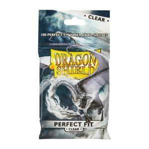 100 DRAGON SHIELD PERFECT FIT - CLEAR:CLEAR