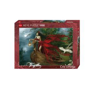 PUZZLE HEYE - C. ORTEGA : Cygnes - 1000 pièces