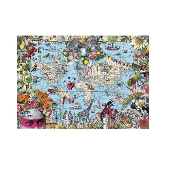 PUZZLE HEYE - PABUKU : Monde particulier - 2000 pièces