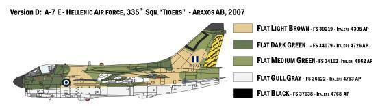ITALERI - A-7E CORSAIR II