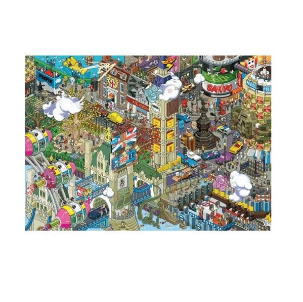 PUZZLE HEYE - EBOY : London Quest - 1000