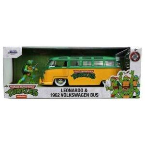 VOLKSWAGEN Bus TORTUES NINJA avec figurine Leonardo-