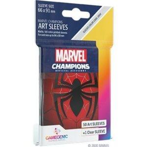 GG - 50 SLEEVES MARVEL CHAMPIONS SPIDER MAN