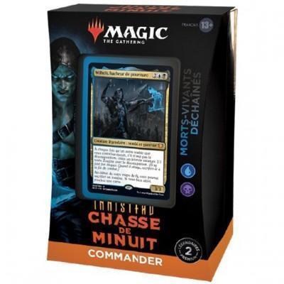 MAGIC - COMMANDER - INNISTRAD CHASSE DE MINUIT - MORTS VIVANTS DECHAINES
