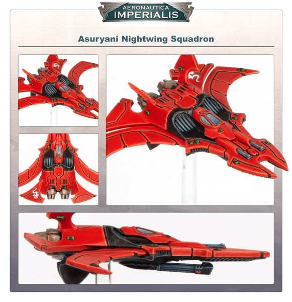Aeronautica Imperialis- Wrath of Angels