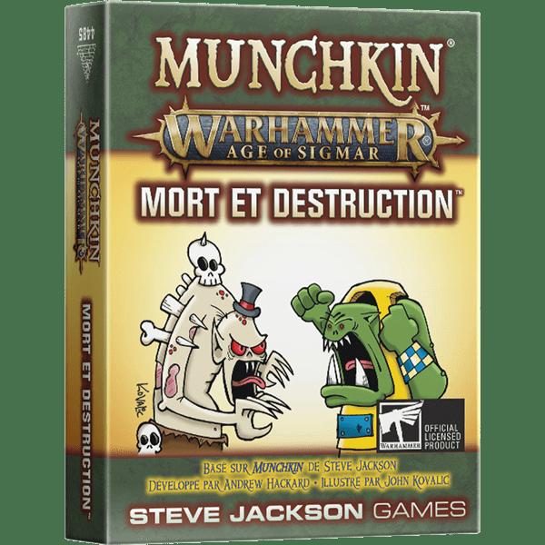 MUNCHKIN WARHAMMER AOS - MORT ET DESTRUCTION