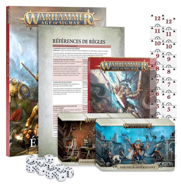 Warhammer Age of Sigmar- Set d'Initiation Émissaire